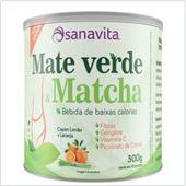 Imagem de MATE VERDE MATCHA CAPIM LIMÃO 300G SANAVITA